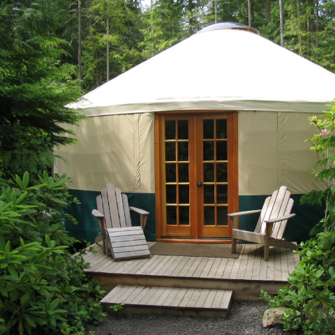 Rainier Eagle Yurt